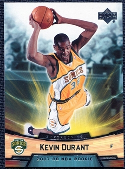 2007/08 Upper Deck NBA Rookie Box Set #11 Kevin Durant