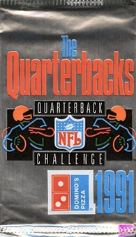 1991 Upper Deck The Quarterbacks Football Pack (Lot of 36)