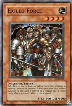 Yu-Gi-Oh Legacy of Darkness Single Exiled Force Super Rare (LOD-023)