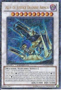 Yu-Gi-Oh Duel Terminal 3 Single Ally of Justice Decisive Armor Ultra Rare
