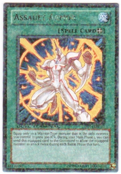 Yu-Gi-Oh Duel Terminal 4 Single Assault Armor Rare