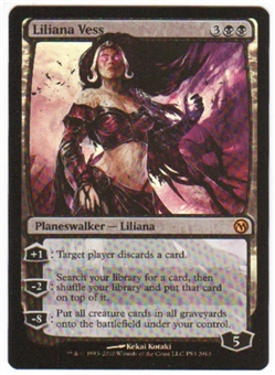 Magic the Gathering Duels of the Planeswalker Single Liliana Vess Foil - NEAR MINT (NM)
