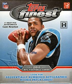 2011 Topps Finest Football Hobby Mini-Box