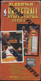 1994/95 Fleer Series 1 Basketball 24-Pack Box