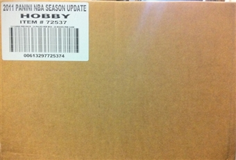2010/11 Panini Season Update Basketball Hobby 20-Box Case