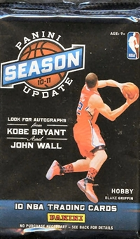 2010/11 Panini Season Update Basketball Hobby Pack