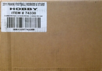 2011 Panini Rookies & Stars Football Hobby 12-Box Case