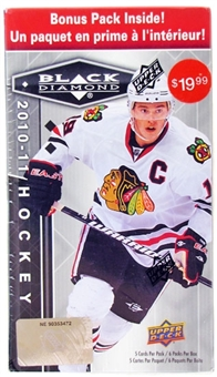 2010/11 Upper Deck Black Diamond Hockey 6-Pack Box
