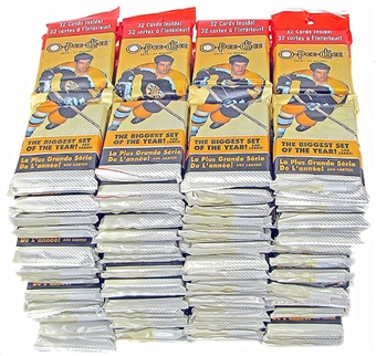 2010/11 Upper Deck O-Pee-Chee Hockey Fat Pack (Lot of 92)