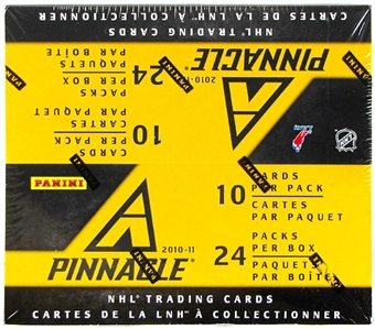 2010/11 Panini Pinnacle Hockey 24-Pack Box