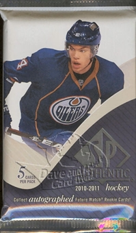 2010/11 Upper Deck SP Authentic Hockey Hobby Pack