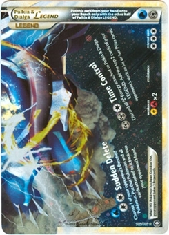 Pokemon Triumphant Single Palkia & Dialga Legend (Bottom) 102/102