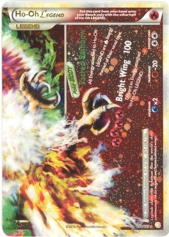 Pokemon HeartGold SoulSilver Single Ho-Oh Legend (Bottom) 112/123