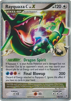 Pokemon Supreme Victors Single Rayquaza C lv. X 146/147