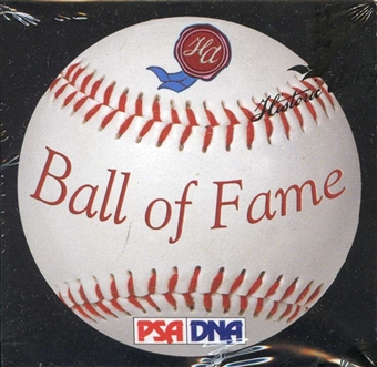 2011 Historic Autograph Ball of Fame Edition Baseball Hobby Box