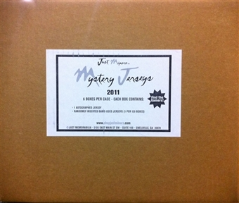 2011 Just Minors Mystery Jersey Baseball Hobby 6-Box Case