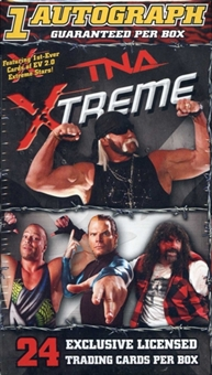 2010 TriStar TNA XTREME Wrestling Value Box (1 Auto per box)