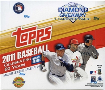 2011 Topps Updates & Highlights Baseball Jumbo Box