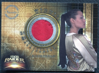 2003 Lara Croft Tomb Raider The Cradle of Life Pieceworks #PW1 Angelina Jolie