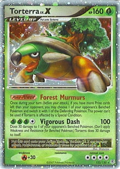 Pokemon Diamond & Pearl Single Torterra lv. X 122/130