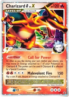 Pokemon Diamond & Pearl Single Charizard DP45 Promo - SLIGHT PLAY (SP)