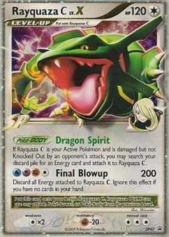 Pokemon Diamond & Pearl Single Rayquaza C lv. X DP47 Promo