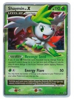 Pokemon Diamond & Pearl Single Shaymin lv. X DP39 Promo - SLIGHT PLAY (SP)