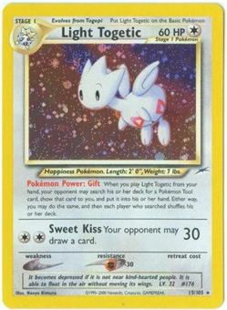 Pokemon Neo Destiny Single Light Togetic 15/105