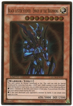 Yu-Gi-Oh Gold Series 4 Single Black Luster Soldier - Envoy of the Beginning