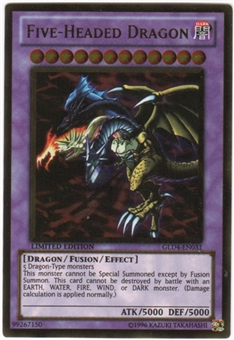 Yu-Gi-Oh Gold Series 4 Single Five-Headed Dragon