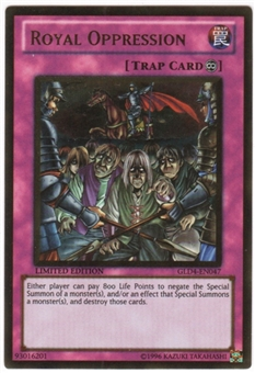 Yu-Gi-Oh Gold Series 4 Single Royal Oppresion