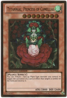 Yu-Gi-Oh Gold Series 4 Single Tytannial, Princess of Camellias