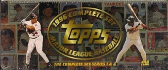 1996 Topps Baseball Retail Factory Set (Brown)