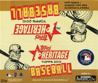 2010 Topps Heritage Baseball 24-Pack Box