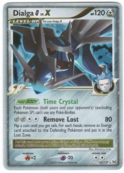 Pokemon Platinum Single Dialga G lv. X 122/127 - MODERATE PLAY (MP)