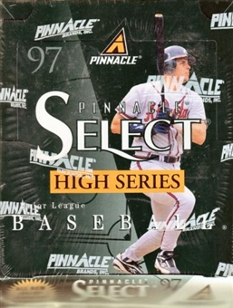 1997 Score Select High Number Baseball Hobby Box