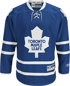 Toronto Maple Leafs Reebok Premier Royal 2010-present Jersey (Size Medium)