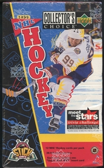 1996/97 Upper Deck Collector's Choice Hockey Hobby Box