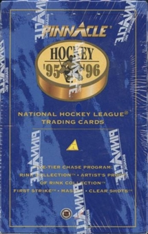 1995/96 Pinnacle Hockey 16 Pack Box