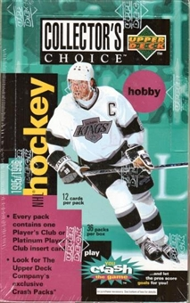 1995/96 Upper Deck Collector's Choice Hockey Hobby Box