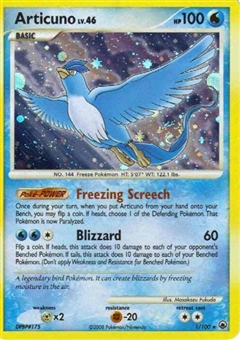 Pokemon Majestic Dawn Single Articuno 1/100