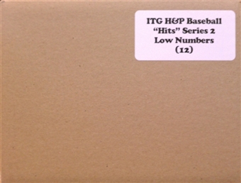 2011 ITG Heroes & Prospects Hits Series 2 Baseball Hobby 12-Box Case