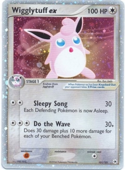 Pokemon Hidden Legends Single Wigglytuff ex 101/101