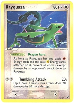 Pokemon Deoxys Single Rayquaza 22/107
