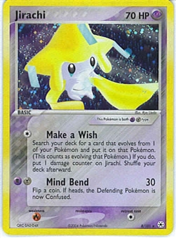 Pokemon Hidden Legends Single Jirachi 8/101