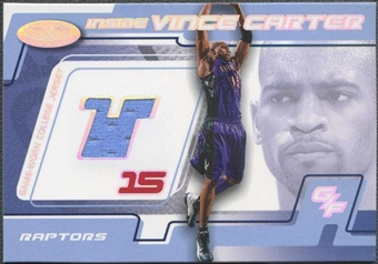 2001/02 Fleer Hot Prospects Basketball Vince Carter Jersey #250/500