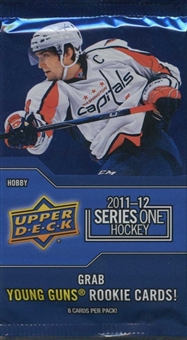 2011/12 Upper Deck Series 1 Hockey Hobby Pack