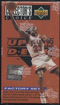 1995/96 Upper Deck Collector's Choice Basketball Factory Set (box)