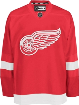 Detroit Red Wings Reebok Edge Red Authentic Jersey  (Size 54)