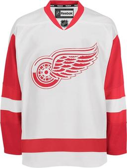 Detroit Red Wings Reebok Edge White Authentic Jersey (Size Authentic 52)